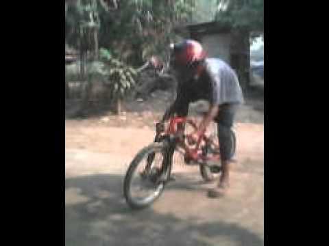 Sepeda Gunung Drag Arena Modifikasi
