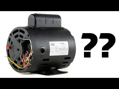 single phase electric motor wiring tutorial: baldor, weg, leeson - youtube  youtube