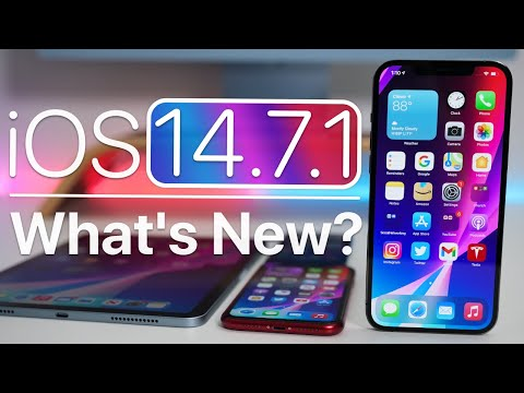 Download iOS 14.7.1 is Out! - What's New?