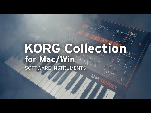 Korg Collection Updated With ARP Odyssey | Synthtopia