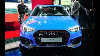Audi R8 RWS, Audi RS 4 2018, Audi A8 и суперконцепты Aicon и Elaine // Франкфурт 2017