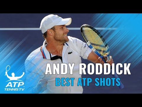 Andy Roddick: Best ATP Shots & Rallies