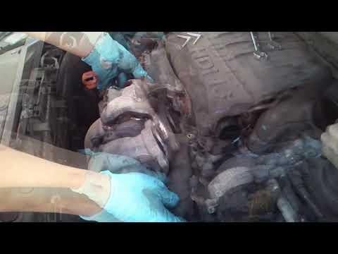 tutorial cambiar turbo a un citroen c4 1parte / how to replace a c4 turbo failure