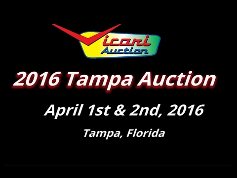 Vicari Auctions: Tampa, FL 2016 - Full Auction Video HD