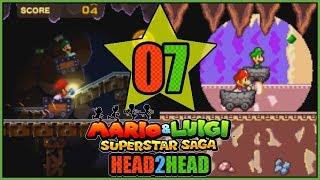 MINE CART ADVENTURE! 3DS VS GBA Mario and Luigi Superstar Saga Head 2 Head Part 7 - DarkLightBros