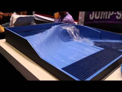 Pacific Surf Designs (New Surf Wave Machine!) Iaapa Attractions Convention