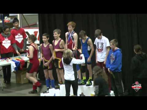 2015 Ontario Wrestling Championship - Broadcast Feed (Mat 2)