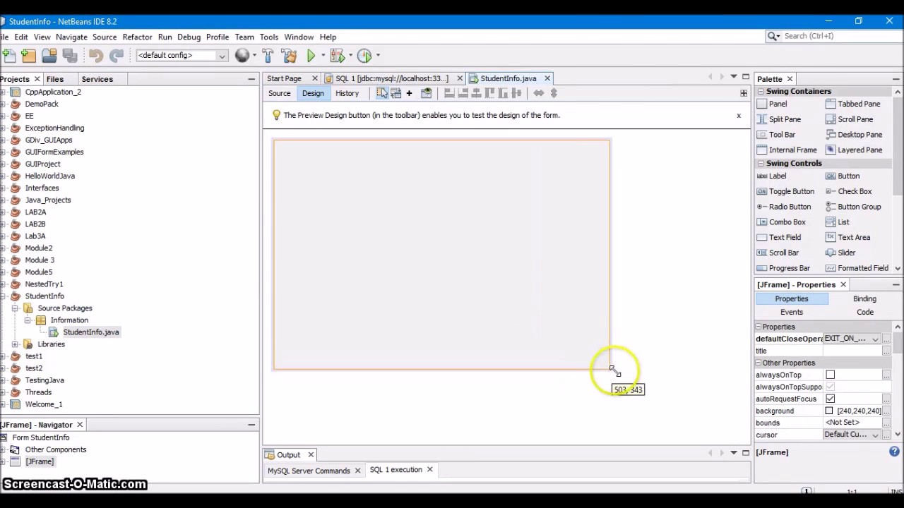 7  How to Connect MySQL with Netbeans