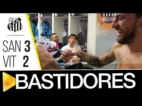 Santos 3 x 2 Vitória | BASTIDORES | Brasileirão (17/11/16)