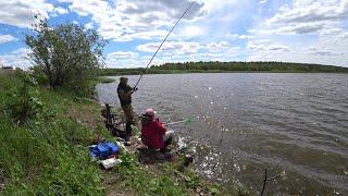 Рыбалка на озере Иркутское в июне 2020