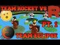 TEAM ROCKET VS TEAM ECLIPSE PT. 1 - ROBLOX Skit