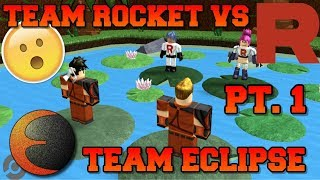 TEAM ROCKET VS TEAM ECLIPSE PT. 1 - RobLOX Skit