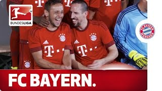 Fun and Games at the Media Days - Bayern München - Behind The Scenes