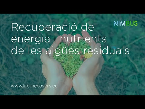 LIFE NECOVERY: Resource recovery from wastewater, for a circular economy [Subtitles: ENG/ESP/CAT]