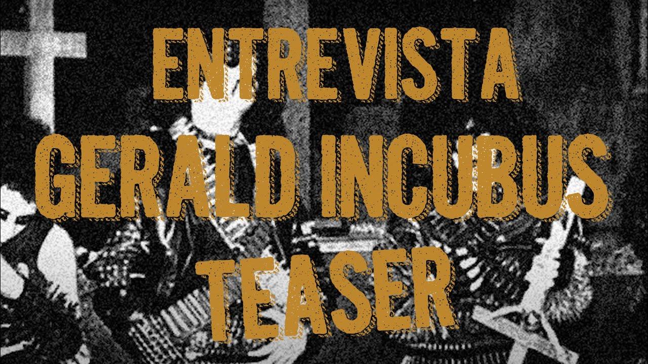 Entrevista | Sarcófago com Gerald Incubus  2020 | Teaser