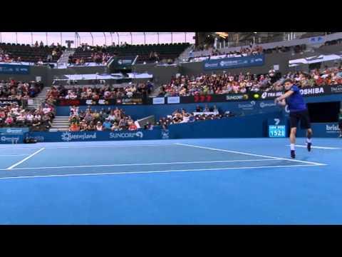 Matthew Ebden v David Goffin - Full Match Men's Singles Round 1: Brisbane International 2013