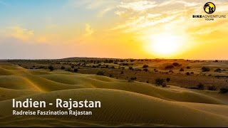 Radreise durch Rajasthan in Indien