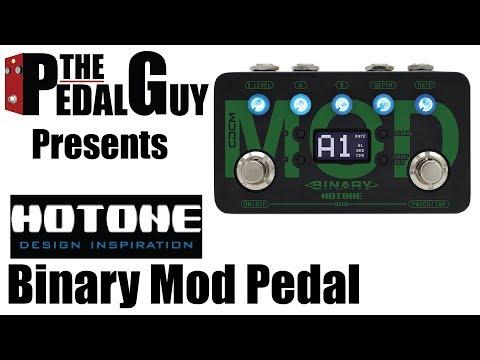 ThePedalGuy Presents the Hotone Binary Mod Modulation Pedal