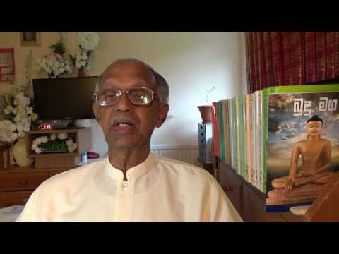 Meditation for  the Old in Sinhala by TS Abeywickrama