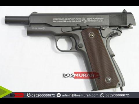Airsoft Gun Fn 1911 Kwc Black Youtube