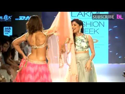 Ileana D Cruz On Ramp At Lakme Fashion Week Part 1