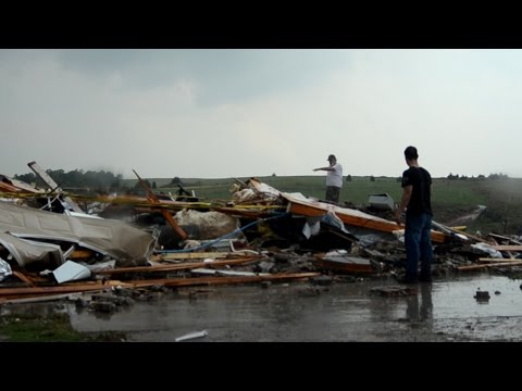 KILLER EF-5 TORNADO El Reno Oklahoma - The Darkest Day!
