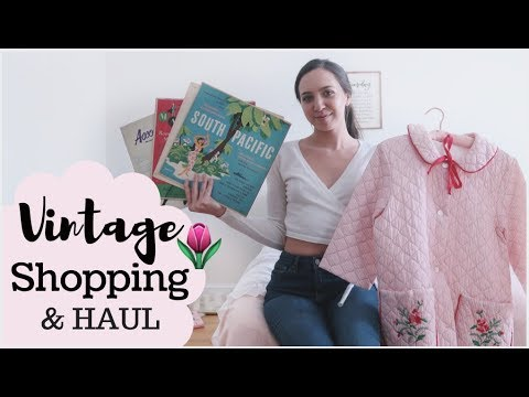 Come VINTAGE SHOPPING With Me & HAUL