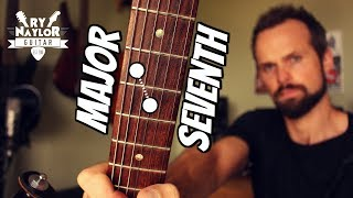 Major 7th Interval on Guitar - Intervals Guitar Lesson (Guitar Theory)