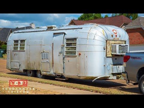 Vintage Camper Renovation | Getting an Avion Home