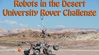Robots in the Desert - University Rover Challenge