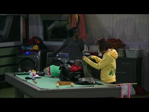BB21 Live Feeds | THE FISH DIE!!! Kemi Tells Nicole That She Thinks She's Going On The Block!