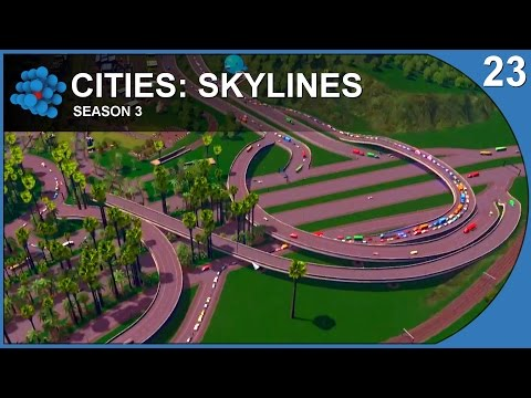Cities: Skylines - Paradise Island - S03E23 - Traffic Jam!