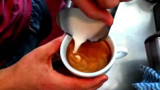 просто волшебство! рисунок на кофе)(, 2015-03-23T21:51:52.000Z)