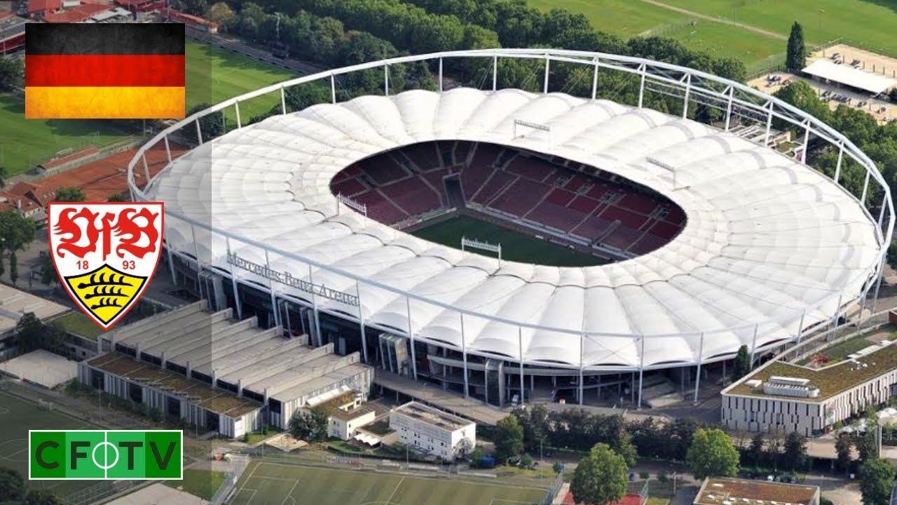 Mercedes-Benz Arena - VfB Stuttgart - YouTube