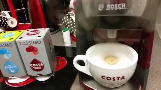 Our new Tassimo Coffee machine…