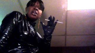 Patent leather mistress!!