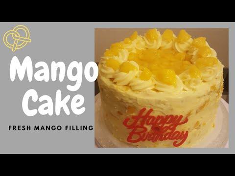 Easy To Make Mango Cake