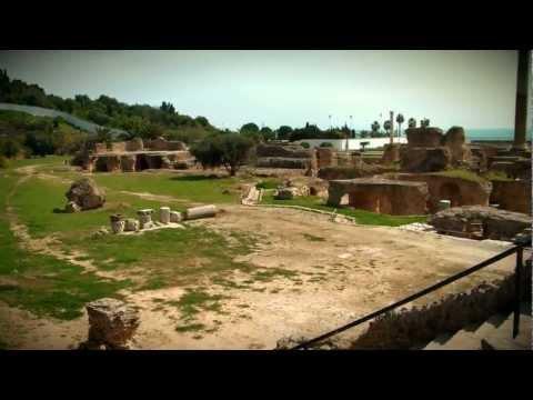 The Antonine Baths, Carthage, Tunisia