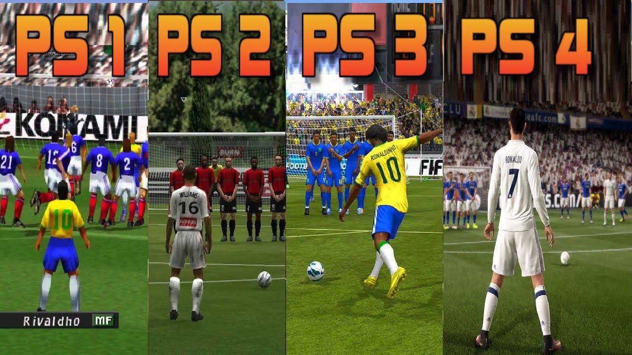 PS1 vs PS2 vs PS3 vs PS4 FIFA Gameplay Comparison - YouTube |Ps4 Graphics Vs Ps3 Fifa 14