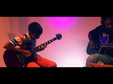Jilla Kandangi Kandangi - Live Guitar Cover by Sharon ft. Kumaran