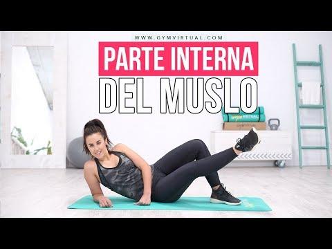 EJERCICIOS PARA PARTE INTERNA DEL MUSLO | Gym Virtual