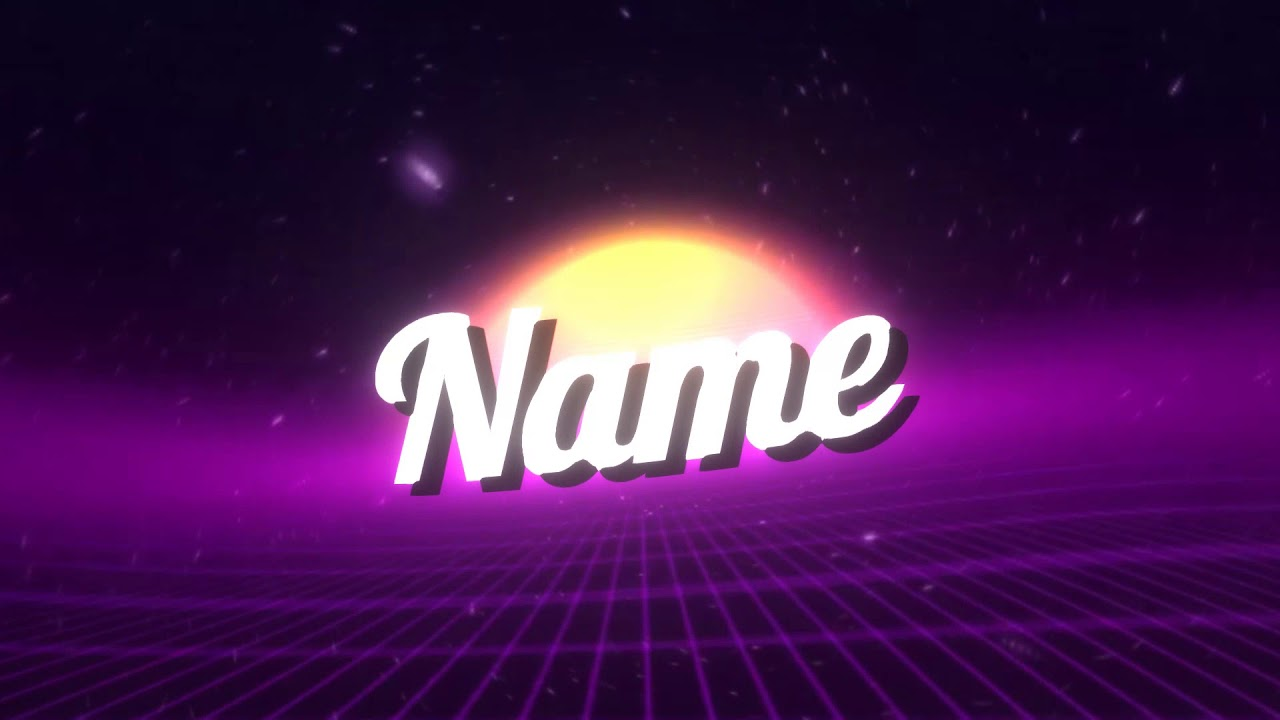 Free Vaporwave Intro Template [panzoid]