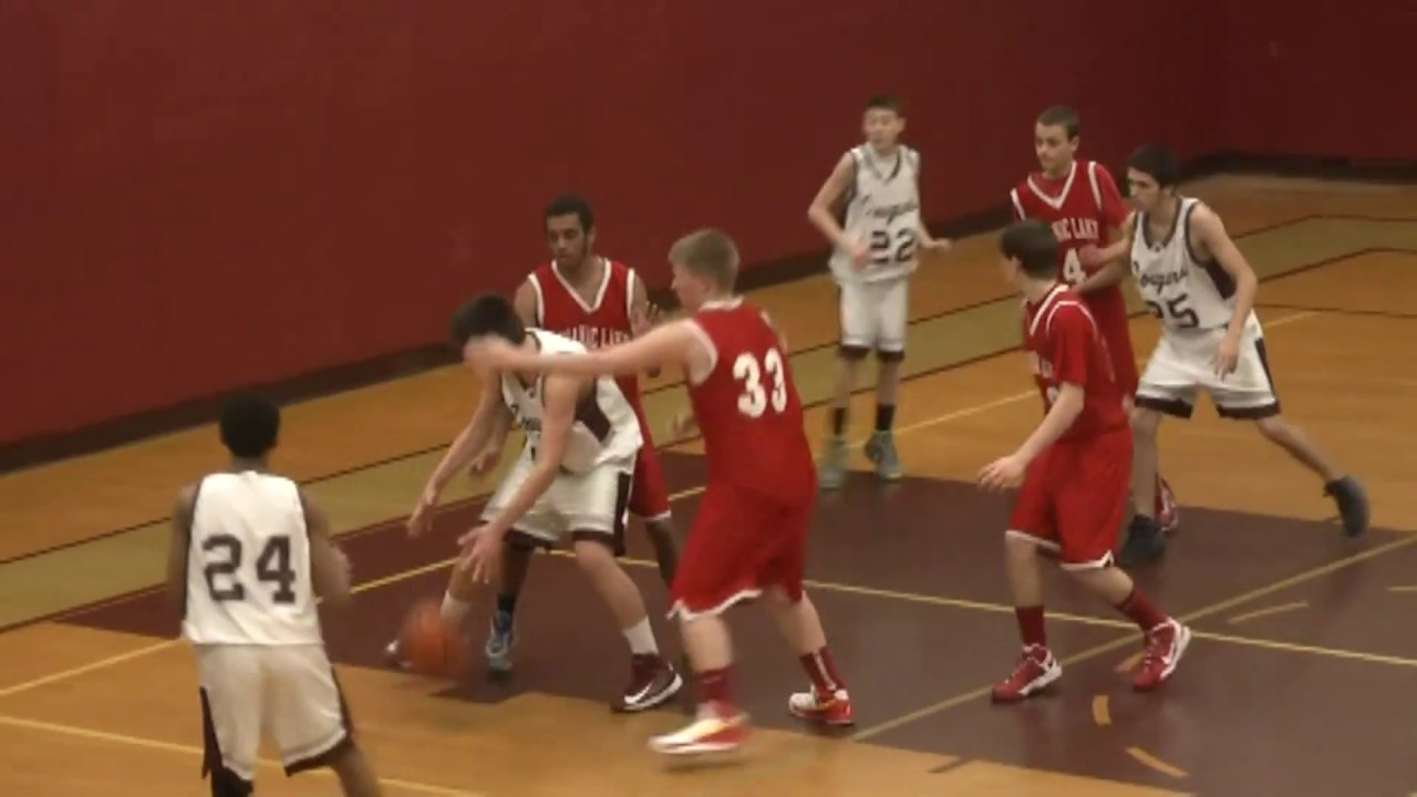 NCCS - Saranac Lake JV Boys  1-18-13