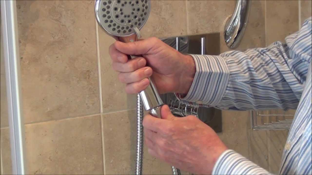 How To Change Shower Hose And Head By Byretech Ltd Youtube