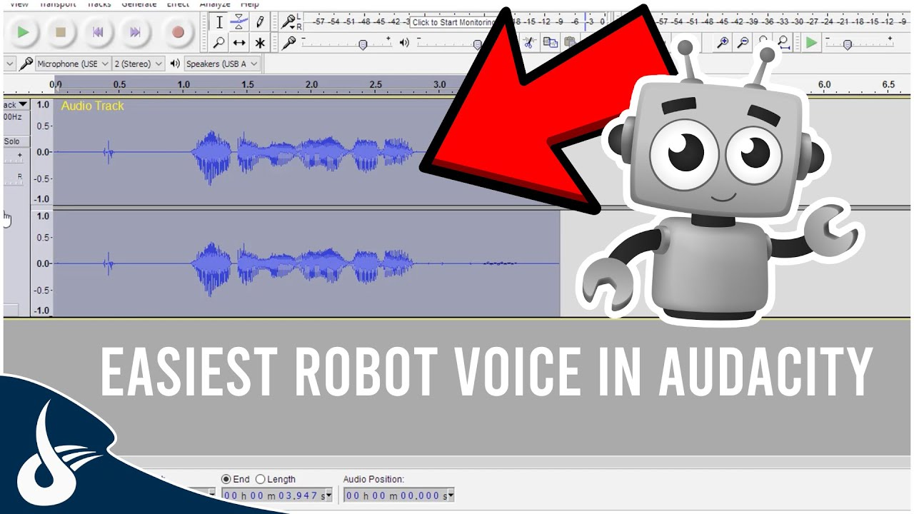 Audacity Tutorial: EASIEST ROBOT VOICE EFFECT