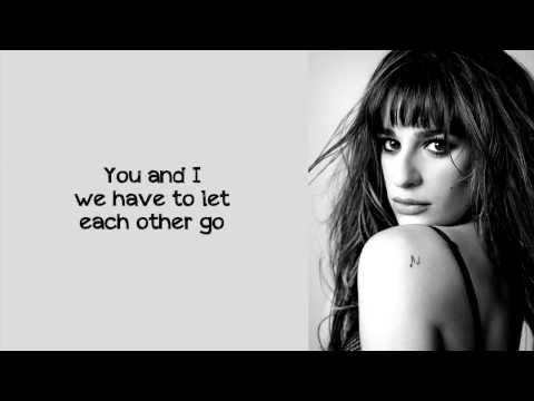 Lea Michele - Battlefield (Lyrics)