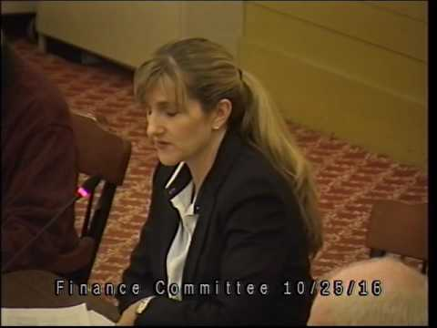 Finance Committee 10/25/16