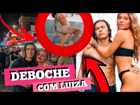LUISA SONZA ABRIND0 AS PERNAS