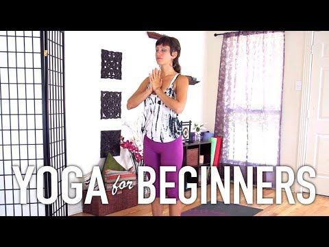 Yoga For Complete Beginners - Sun Salutation Workout