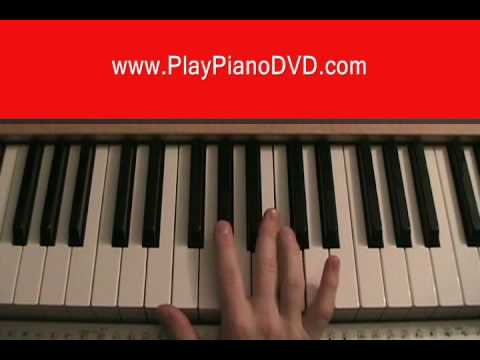 How to play No One by Alicia Keys on the Piano
